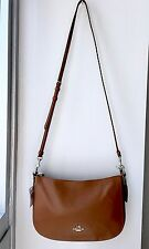 NWT Coach 37018 Chelsea Saddle Calf Leather Top Handle Shoulder Crossbody Bag