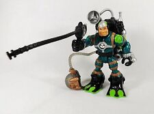 FISHER PRICE RESCUE HEROES ACTION FIGURE VOICETECH VIDEO MISSION GIL GRIPPER