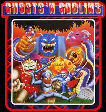 80's Video Game Classic Ghosts 'N Goblins custom tee Any Size Any Color