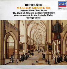 Beethoven Mass In C Palmer Watts Tear Guest Decca Jubilee JB 129 EXCELLENT