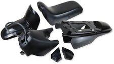 Verkleidungsset Verkleidung Verkleidungsteile in Schwarz für Yamaha PW50 PW 50