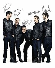 TAKE THAT AUTOGRAPHED SIGNED A4 PP POSTER PHOTO