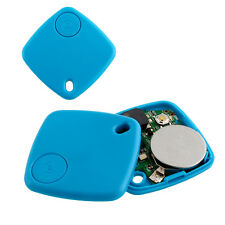 Mini Bluetooth GPS Tracker Blue For Car Vehicle Baby Key Pet Dog Locator