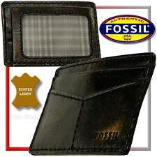 FOSSIL EC-Karten-Etui, Leder Card Case, Kredit-/Club-/Visa-/Kartenetui/Hülle NEU