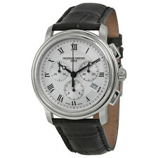 Frederique Constant Persuasion Silver Chronograph Dial Mens Watch 292MC4P6