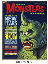 Famous Monsters of Filmland #27 © March 1964 Warren Publishing
