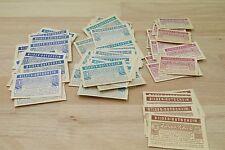 Über 100 Stück Bilder Gutschein für Sammelalben Einer, zweier und halber scheck