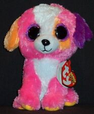 "TY BEANIE BOOS - AUSTIN the 6"" DOG - CLAIRE'S EXCLUSIVE - MINT with MINT TAG"