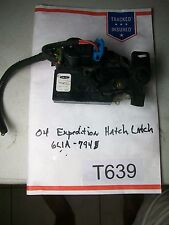 2004 Expedition Hatch Latch Mechanism   Look CLOSE at Picture & COMPARE #T639