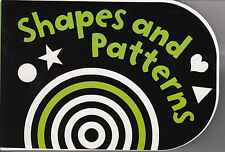 Black and White Shapes and Patterns Chunky Board Book by Holly Brook-Piper...