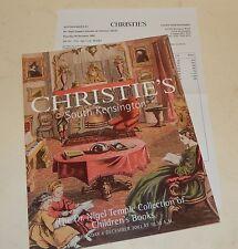 CATALOGUE de VENTES CHRISTIE'S Children Books Dr. NIGEL 2003 - Livres Enfants