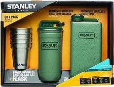 Stanley Adventure Stainless Steel Shots + 8oz Flask Gift Set Hammertone