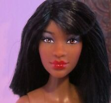 NEW PRETTIE GIRLS LENA Barbie Size Doll, Black African, AA, Nude Articulated
