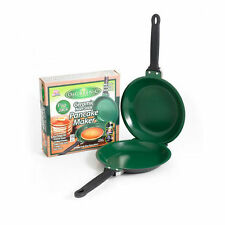 As Seen on TV Flip Jack Pancake Maker Green Non-Stick Cookware Pan Ceramic