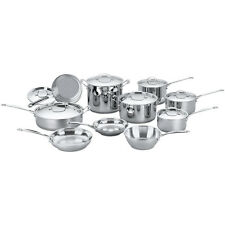 Cuisinart Chef's Classic Stainless Cookware 17 pc.Set