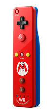 Official Nintendo Wii U Remote Plus Mario Red Controller + Strap and Sleeve - VG