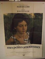 lot 2 affiches + dp + 9 photos cinema mes petites amoureuses - jean eustache