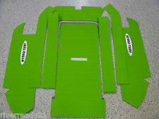 Kawasaki 750-SX-SXI-PRO Jet-Ski Hydro-Turf Mat Kit Lime Green In stock HT67FS
