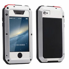 Aluminum Gorilla Glass Shockproof Waterproof Metal Cover Case For iPhone Samsung