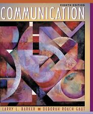 Communication (8th Edition) Paperback LikeNew