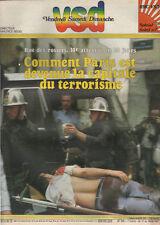 VSD N°258 attentat rue des rosiers a paris burt reynolds michel platini