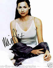 MINNIE DRIVER ACTRESS HAND SIGNED AUTOGRAPHED SEXY PHOTO! WITH PROOF + C.O.A.!