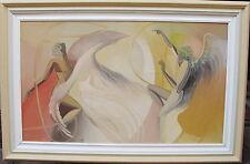 Adagenir Inácio de oliveira, surrealista escena con Ángel, fechado 1998