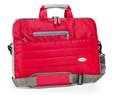 CARDOR Zed 15.6 Inch RED Trendy Laptop Sling Messenger Bag - Free P&P