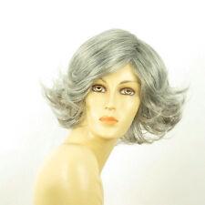 Perruque femme grise cheveux lisses ref JEANNETTE 51
