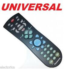 UNIVERSAL REMOTE CONTROL 5 IN 1 RCA TV/VCR/DVD/RECEIVER PHILIPS SAMSUNG LG RCA