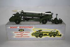 Dinky #666 Missile Erecting Vehicle with Corporal Missile & Launching Platform