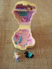 Vintage Polly Pocket Bluebird 1994 Pony Ridin Complete flocked Horse Compact