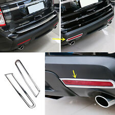 2X ABS Rear Fog Lamps Decorative Frame For Ford Explorer 2013-2015
