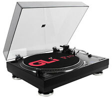 GLi Pro BD1600 Belt Drive DJ Turntable ~ Professional Turntable System