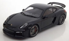 Schuco 2015 Porsche Cayman GT4 Black Metallic 1:18*New!