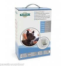 Staywell Petsafe 600 Aluminium small dog pet door cat flap white catflap