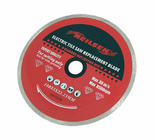 180mm Continuous Diamond Rim Cutting Disc for Electric Tile Cutting Machines