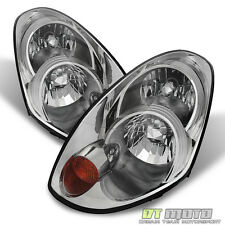 [HID Model] 2005-2006 G35 G35X Sedan Headlights Headlamps 05-06 Replacement Set