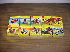 Complete Set LEGO Shell Promo Giveaways Mint in Box #2535-2544
