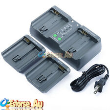 MH-26A Dual Sequential Fast Charger For Nikon EN-EL18 EN-EL4 Canon LP-E4 Battery