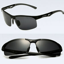 Fashion-Polarized-Mens-Sunglasses-Outdoor-Sports-Eyewear-Driving-Glasses-Black