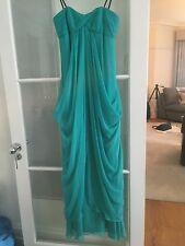 Never Worn Laundry By Shelli Segal US Size 2 Silk Maxi Dress