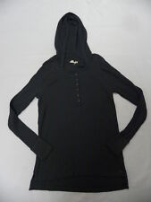 Roxy Women Great Heart Gray L/S Pullover Crew Hoodie Sweatshirt Sz Medium
