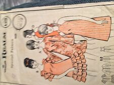 VINTAGE 1968 WOMAN'S REALM SEWING PATTERN L213 LADIES MINIDRESS 32.5 INCHES BUST