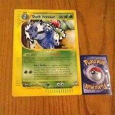 Pokemon Oversized Jumbo DARK IVYSAUR Best Promo Card RARE