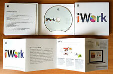 APPLE IWORK '09 CON PAGES '09, NUMBERS '09, KEYNOTE '09 ITALIANO COMPLETO SCATOL