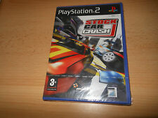 PS2 - Stock Car Crash - NEW & SEALED - PAL UK 3+