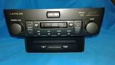 86120-50590 2001 LEXUS LS430 Mark Levinson Radio CD Player Receiver 6 Disc Chang