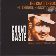 CD Album Count Basie The Chatterbox Pittsburg, Pennsylvania 2001 Galaxy