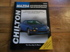 NEW Chilton Repair Manual: Mazda 323/MX-3/626/MX-6/Millenia/Protege (1990-98)